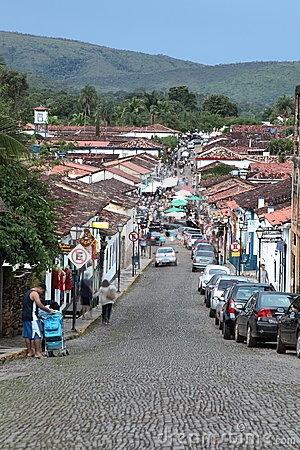 Pirenópolis estado-brasil-de-goias-da-cidade-de-pirenopolis-18128669