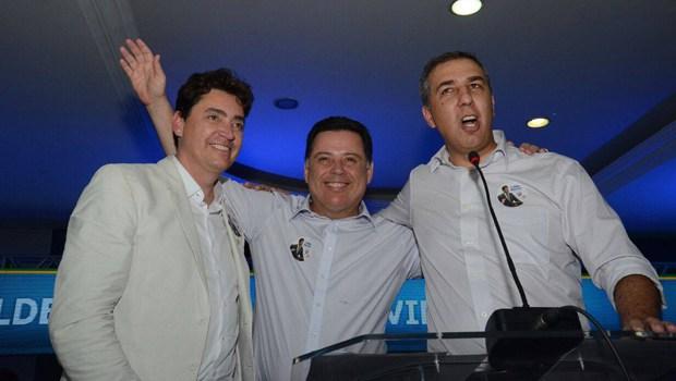 Políticos dizem que Wilder Morais será suplente de Marconi mas o senador está com pinta de candidato