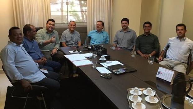 Luiz Bittencourt se reúne com cúpula do PMN | Foto: divulgação