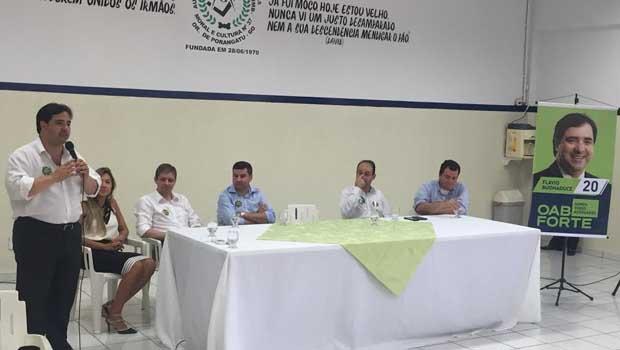 Buonaduce mobiliza advogados em São Miguel do Araguaia
