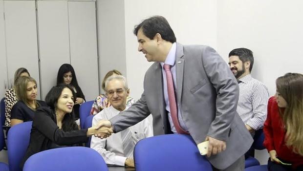 Buonaduce visita advogados públicos da Saneago