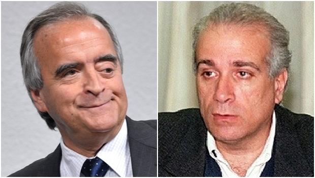Ex-diretor da Petrobrás Nestor Cerveró e Celso Daniel: o primeiro poderia ter o mesmo fim do segundo, que foi assassinado para não entregar esquema de corrupção em favor de seu partido   Fotos: Wilson Dias / ABr/ reprodução