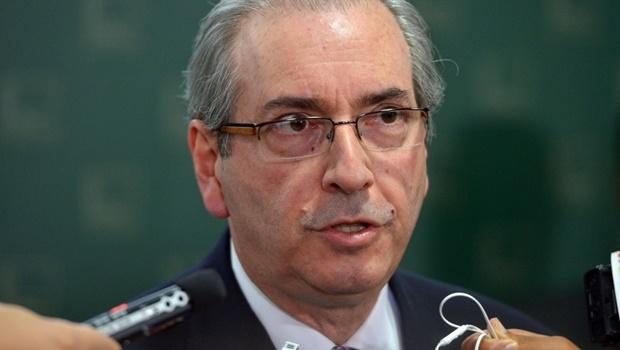 O presidente da Câmara dos Deputados, Eduardo Cunha fala sobre a pauta de votação da casa (Wilson Dias/Agência Brasil)