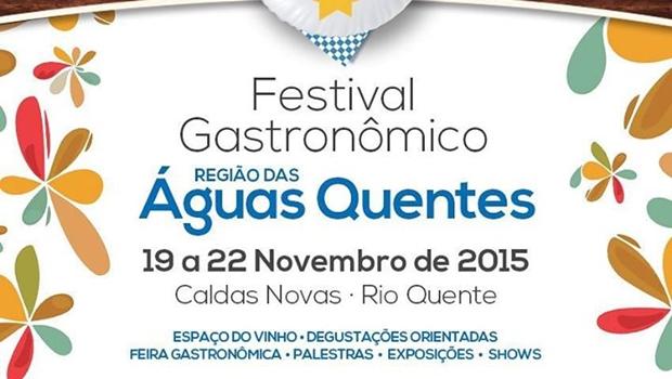 Caldas Novas recebe Festival Gastronômico
