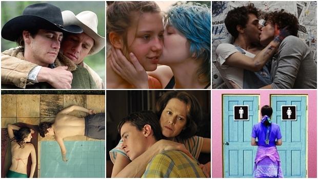 """Vale lembrar que os filmes, aqui listados, são só alguns (dos quais você precisa ver) que discutem sexualidade e gênero. Muitos outros, além de séries televisivas, propõem um olhar mais justo e não tão """"coisa de outro mundo"""" sobre a diversidade e diferença   Fotos: Reprodução"""