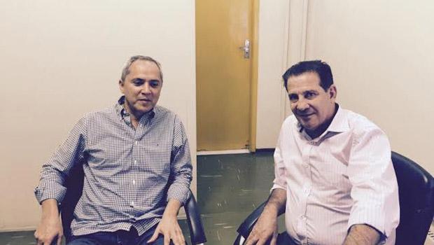 Luiz Bittencourt e Vanderlan Cardoso discutem aliança política para a Prefeitura de Goiânia