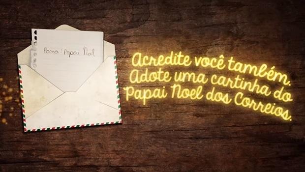 As crianças podem enviar cartas até 30 de novembro | Foto: Reprodução YouTube