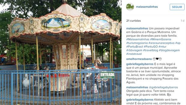 Goiânia é destaque em blog especializado em turismo