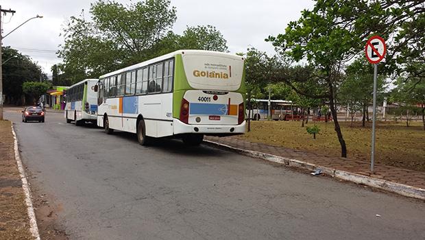 Grande Goiânia tem 60% da frota de ônibus em circulação nesta 3ª-feira