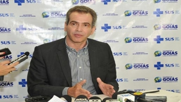 Para o secretário da Saúde, Leonardo Vilela, a confirmação do caso reforça a importância das ações da força-tarefa Goiás contra o Aedes | Foto: Divulgação