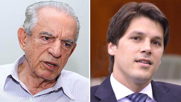 Iris Rezende e Daniel Vilela se entendem sobre futuro do PMDB goiano