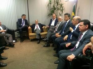 FHC e governadores em Brasília