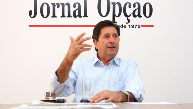 Prefeito de Aparecida, Maguito Vilela | Foto: Fernando Leite/Jornal Opção