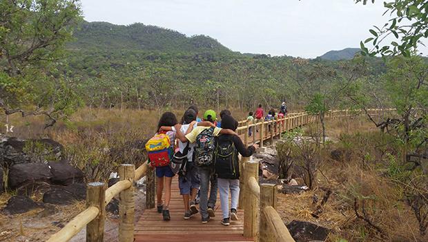 Parque da Chapada dos Veadeiros conta com trilha para PNEs