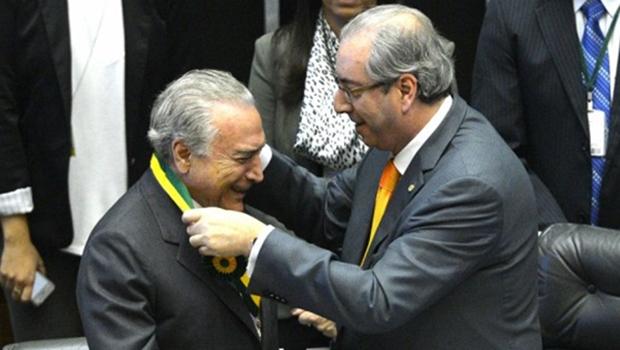 Piauí causa polêmica com ilustração de beijo entre Cunha e Temer