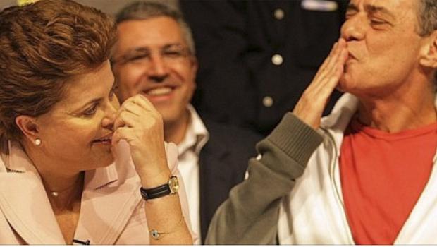 Apoio do homem Chico Buarque a Dilma Rousseff não diminui o artista. Brasileiro precisa ser tolerante