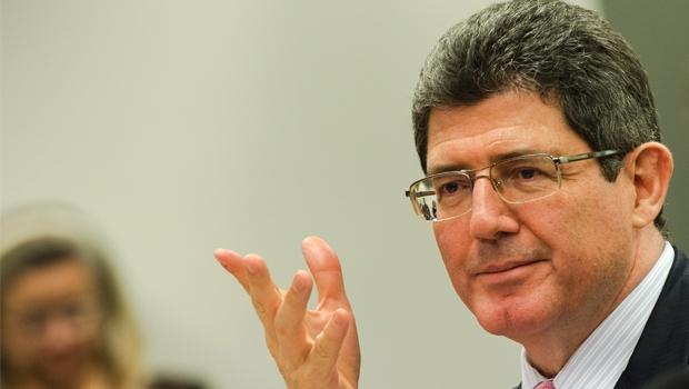 Ex-ministro Joaquim  Levy: sem apoio nem do  partido da presidente da  República, ele deu lugar  a Nelson Barbosa | Marcelo Camargo/Agência Brasil