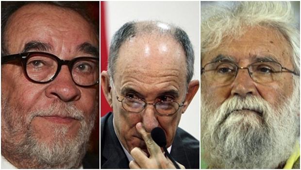 """Fernando Morais e Rui Falcão: o primeiro faz questão de não enxergar a crise que até o segundo admite. Já o ideólogo Leonardo Boff """"latiniza"""" a crise"""