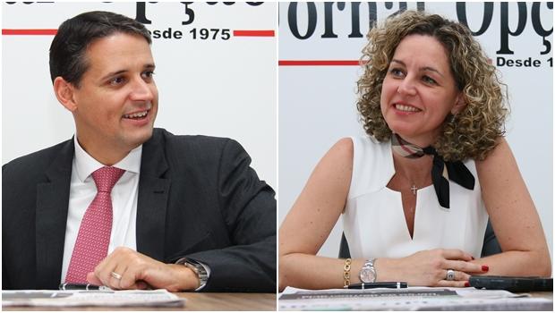 Ana Carla e Thiago Peixoto são eleitos como melhores secretários do governo Marconi Perillo