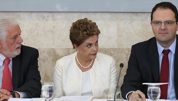 Ministro-chefe da Casa Civil, Jacques Wagner, presidente Dilma Rousseff (PT) e o ministro da Fazenda, Nelson Barbosa abertura do 44ª Reunião Ordinária do Pleno do Conselho de Desenvolvimento Econômico e Social-CDES | Foto Lula Marques/Agência PT