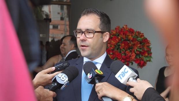 Lúcio Flávio foi empossado como presidente da OAB-GO na manhã desta sexta-feira (1º/01) | Foto: Leo Iran