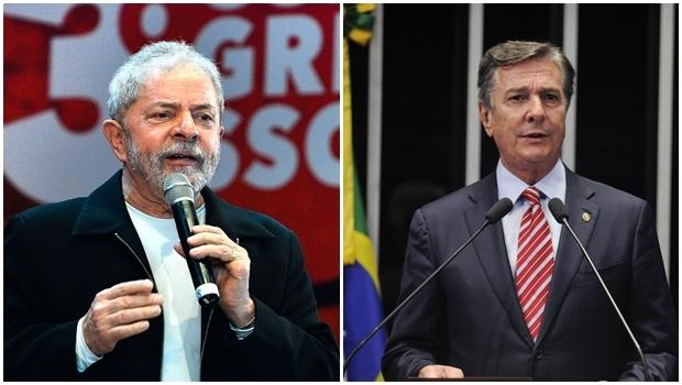 Informação sobre troca de favores entre Lula e Collor consta na denúncia protocolada por Janot no STF | Fotos:  Antônio Cruz/Agência Brasil e Jefferson Rudy/Agência Senado