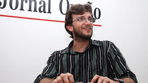 Ademir Luiz, escritor, doutor em História pela Universidade Federal de Goiás (UFG) e professor da Universidade Estadual de Goiás (UEG) | Foto: Fernando Leite / Jornal Opção