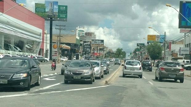 Avenida 85 depois de conclusão das obras |Foto: Reprodução/ Twitter SMT