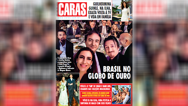 Revista Caras vira piada na web após divulgar capa com montagem bizarra