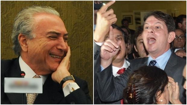 """Chamado de """"chefe de quadrilha"""", Temer processa Cid Gomes"""