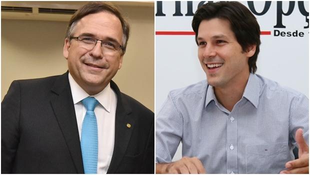 Sandro Mabel oficializa apoio a Daniel Vilela na disputa pela presidência do PMDB