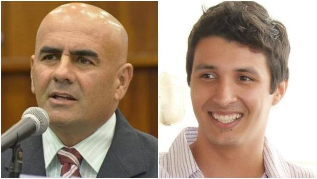 Deputado estadual Paulo Cezar Martins e presidente da Juventude do PMDB, Pablo Rezende | Fotos: reprodução / Facebook / Alego