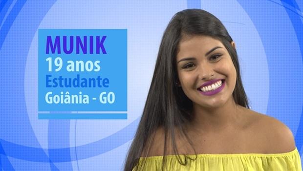De Goiânia, conheça a nova integrante do BBB Munik
