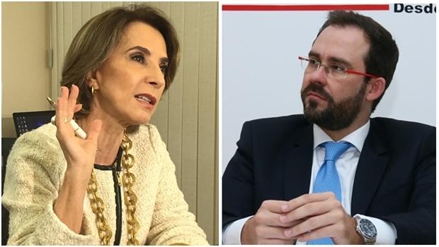 Secretária Raquel Teixeira e o presidente da OAB-GO, Lúcio Flávio | Fotos: Jornal Opção
