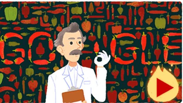 Conheça Scoville, homenageado nesta sexta-feira pelo Google