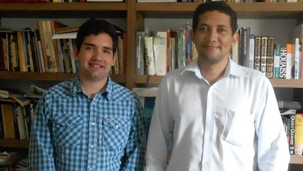 Darlan Braz e Lyon Lima visitaram o Jornal Opção | Foto: Euler de França Belém