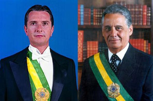 Fernando Collor e Fernando Henrique juntos Fernandos