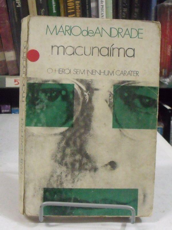 Mário de Andrade capa do livro Macunaima-mario-de-andrade-14019-MLB3938610976_032013-F