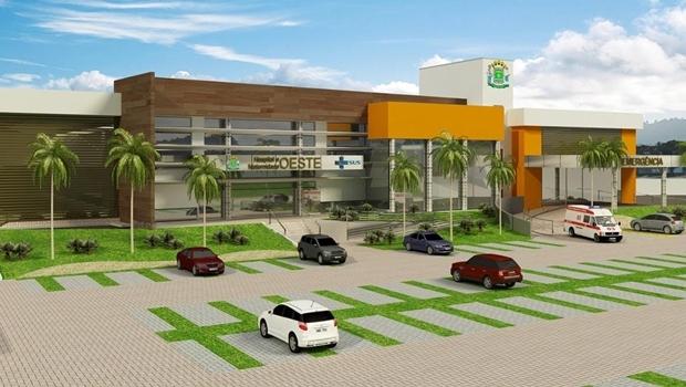 Projeto de como deve ficar a nova unidade de saúde em Goiânia, no Conjunto Vera Cruz I | Ilustração: Prefeitura de Goiânia