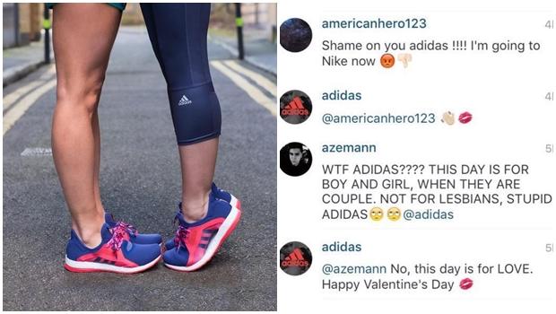 Adidas responde com humor críticas a propaganda com casal gay