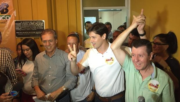 Com 73% dos votos, Daniel Vilela é o novo presidente do PMDB goiano