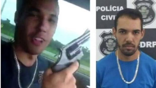 Fugitivo de cadeia é preso em Goiânia após gravar vídeo ostentando armas e bebidas
