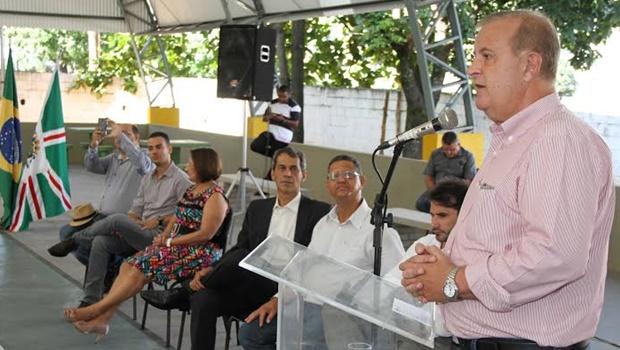 Paulo Garcia inaugura 38ª quadra poliesportiva de sua gestão