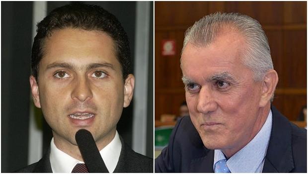 Leandro Vilela e Victor Priori: possível dobradinha do PMDB e do PSDB
