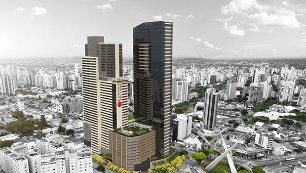 Maquete do Nexus Shopping & Business: empreendimento vai ocupar mais de 100 mil metros quadrados   Foto: Divulgação