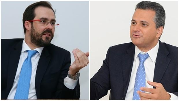 Presidente da OAB-GO, Lúcio Flávio, e diretor do Sebrae, Igor Montenegro, firmam parceria entre as entidades