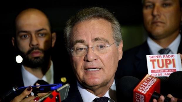 O presidente do Senado, Renan Calheiros, nega ter usado dinheiro público para pagamento de pensão de filha | Foto: Wilson Dias/ Agência Brasil