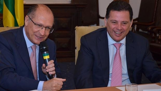 Alckmin e Marconi Perillo | Foto: Eduardo Ferreira