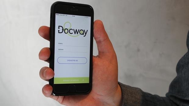 Responsável pelo aplicativo acredita no sucesso do Docway em Goiânia   Foto: Divulgação