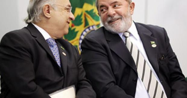 Lula com Paulo Vannuchi